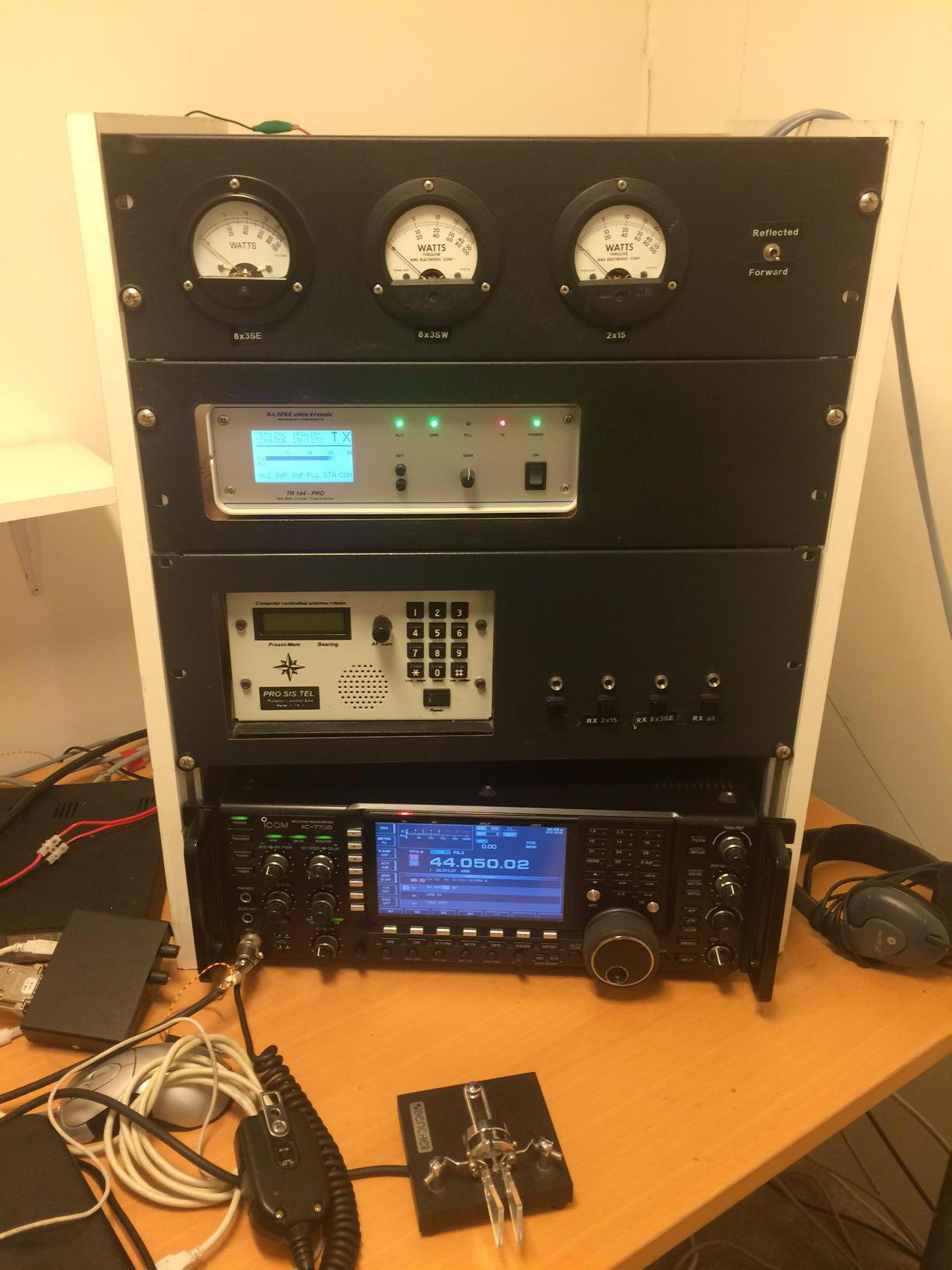 New equipment -review of the TR144 PRO transverter from